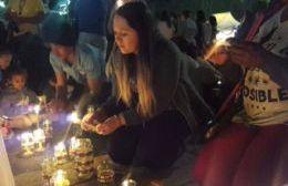 """La colectividad colombiana celebró la """"Fiesta de las Velitas"""""""