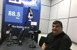 """Ricardo Burgos: """"Es un gusto lo que hago y devolverle a Berisso todo lo que me dio"""""""