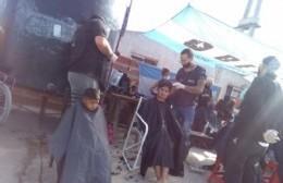 Vuelve la peluquería solidaria a Villa Roca