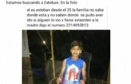 Encontraron a Esteban, el niño que estaba perdido desde el 25 de diciembre