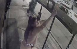 Rateros de baja estofa: Se robaron las lamparitas de un local comercial