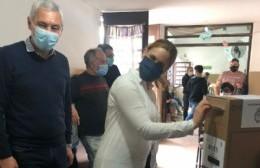 La ministra de Trabajo bonaerense votó en Berisso y destacó la jornada cívica