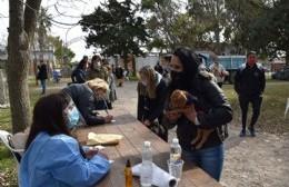 El servicio de Veterinaria Móvil atendió en el Fortín Gaucho