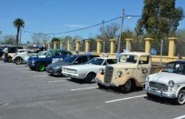 Autos exhibidos este sábado y expuestos durante el domingo