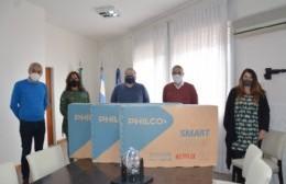Portal de Autogestión: Vecinos premiados con los primeros tres Smart TV