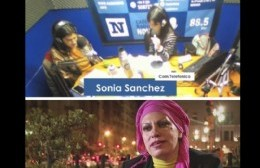 """En Frecuencia Las Juanas, Sonia Sánchez condenó la """"legalización del proxenetismo"""""""