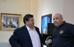 Nedela recibió al electo presidente de Bomberos Voluntarios