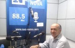 Novelino habló de la actividad en el Concejo, los proyectos y el contacto con los vecinos
