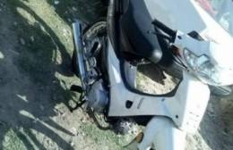 Tres delincuentes le robaron la moto, su herramienta de trabajo