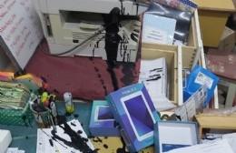 A 20 días del último robo, la Secundaria N° 14 volvió a ser víctima del vandalismo
