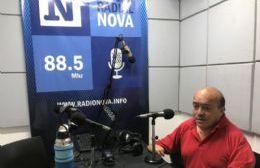 Raúl Murgia, en el aire de Cadena Radial NOVA.