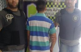 Un joven detenido.