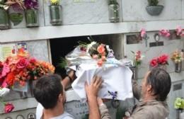 Se inhumaron en Berisso los restos de Hilda Farías