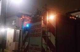 Incendio en una vivienda de 124 entre 61 y 62