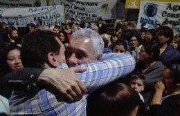 Garaza saludó a Cagliardi, flamante intendente electo