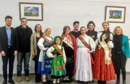 Milagros Díaz Abramo fue designada como representante cultural de la colectividad portuguesa