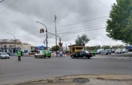 Desperfecto eléctrico deja sin semáforos a Montevideo y Génova y sin servicio al Banco Provincia