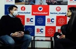 """Ramírez Borga: """"Hoy la capacidad del sistema de salud en Berisso es plena"""""""