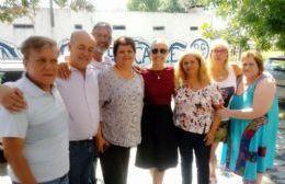 La Coalición Cívica-ARI local destacó la visita de la ahora oficialista Florencia Arietto