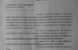 La Cámara de Taxis de Berisso solicita un aumento en las tarifas