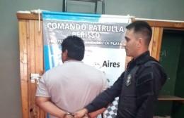 El operativo policial logró dar con el violento en 18 y 166 y fue detenido, mientras que el nene fue rescatado y se lo entregó a la madre.