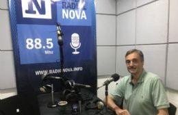 El concejal peronista, en el aire de BerissoCiudad en Radio.