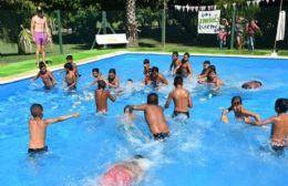 Gran afluencia de chicos a la colonia municipal de vacaciones.