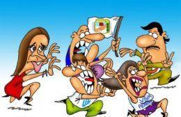 Parece que se terminó el romance entre Vidal y algunos dirigentes peronistas que eligen volver a las fuentes. (Dibujo: NOVA)