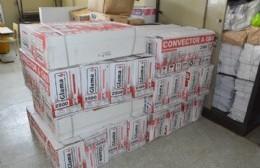 El Consejo Escolar informó que continúa con la entrega de calefactores para escuelas