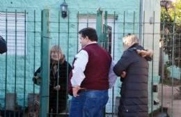 Nedela visitó a vecinos de Villa Zula