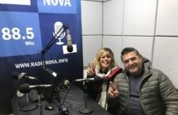 Verónica Valledor y José Luis Redondo, precandidatos a concejal y a consejero escolar, respectivamente.