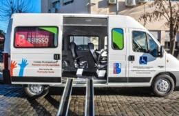 El Municipio ya cuenta con un vehículo para transportar personas con movilidad reducida