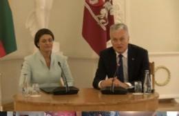 Presencia berissense en encuentro con el Presidente de Lituania