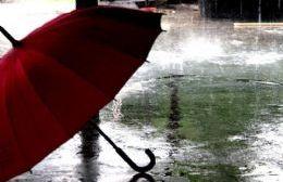 Alerta por tormentas intensas durante toda la jornada del lunes