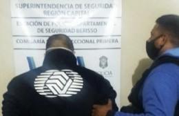 Detuvieron a un policía acusado de abusar de su hijastra y golpear a su hermanito con un cinto