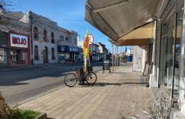 Comercios de la ciudad abrieron sus puertas desistiendo del paro