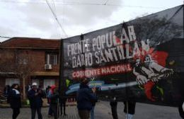 El Frente Darío Santillán reclamó sueldos cooperativistas, vivienda digna y ayuda a comedores