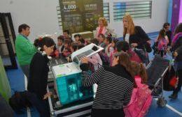 La Feria Itinerante de Conocimiento ya se instaló en La Franja