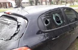 Roturas en el auto del secretario general del Sindicato de Guardavidas