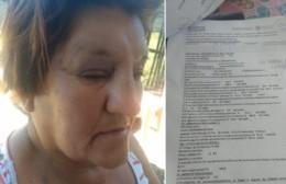 Mujer víctima de golpiza y robo: Sus familiares piden la detención de los delincuentes