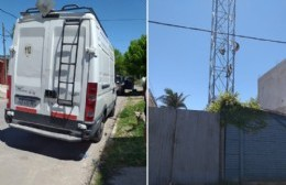 Volvió la preocupación a 163 entre 16 y 17 por la instalación de una antena