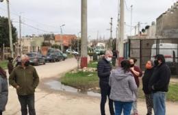 """Cagliardi supervisó el operativo """"DetectAr"""" en Villa Progreso"""