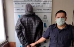 Detenido por robo en 8 entre 154 y 155