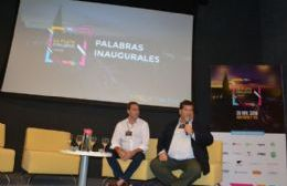 Nedela y Garro inauguraron exposición de emprendedores en la sede de Y-TEC