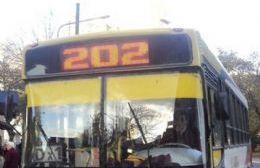 Ebria y descontrolada a bordo del 202