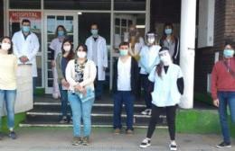 Ocho nuevos residentes para el Hospital Larraín