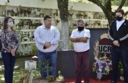 El radicalismo local rindió homenaje a los afiliados fallecidos