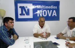 Ángel Celi, junto a los ediles del FR, Jonathan Barros y Maximiliano Barragán.