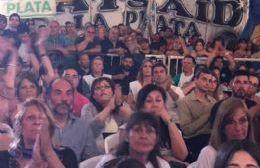 Acto en el Centro de Residentes Santiagueños.