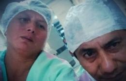 """Habló la viuda del enfermero fallecido por COVID: """"Con la vacuna van a haber muy buenos resultados"""""""